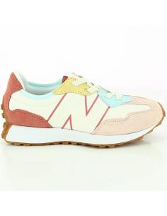 Sneakers enfant New Balance 327 toile et daim vue 1